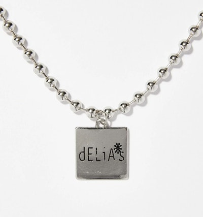 Callin' In Cute Silver Nameplate Necklace