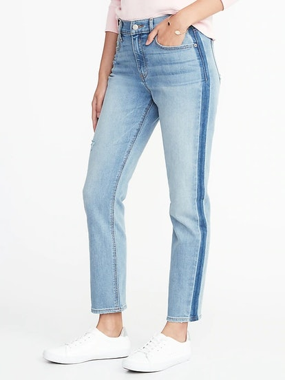 High-Rise The Power Jean a.k.a. The Perfect Straight Ankle Jeans for Women