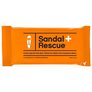 BootRescue SandalRescue All-Natural Cleaner Wipes (Pack Of 15)