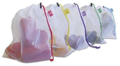 BahrEco Resusable Produce Bags (Set of 5)