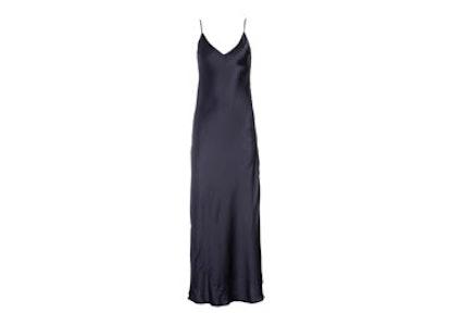 Almost Black Slip Dress