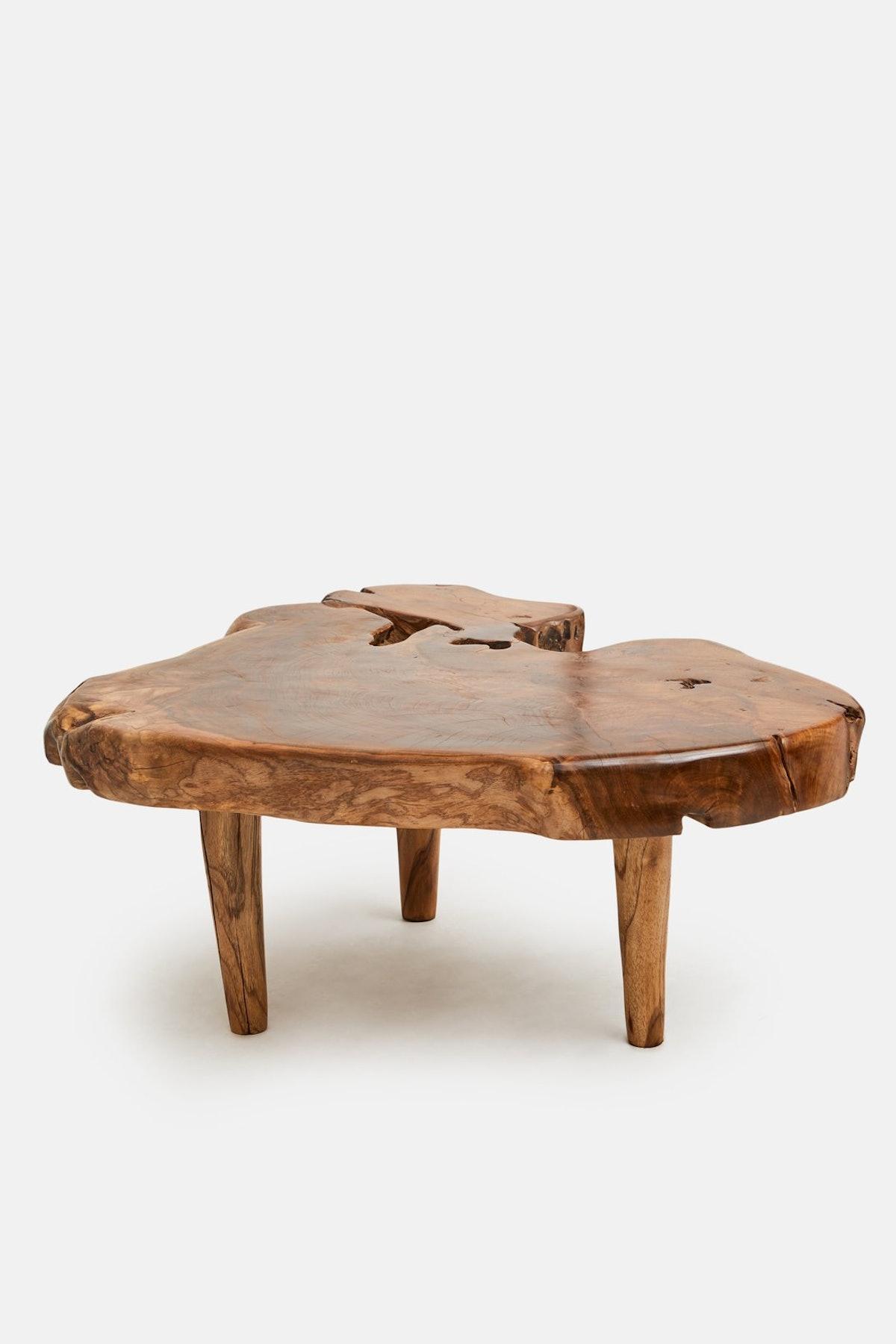 Andrianna Shamaris Organic Style Teak Coffee Table or Side Table