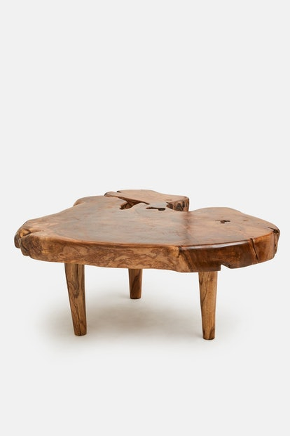 Andrianna Shamaris Organic Style Teak Coffee Table or Side Table