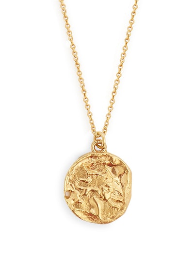 Leo Gold-Plated Necklace 225
