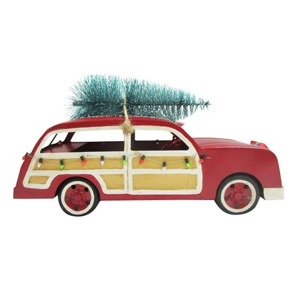 Station Wagon Holiday Figurine