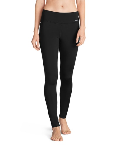 Women's Crossover Fleece Leggings - Solid