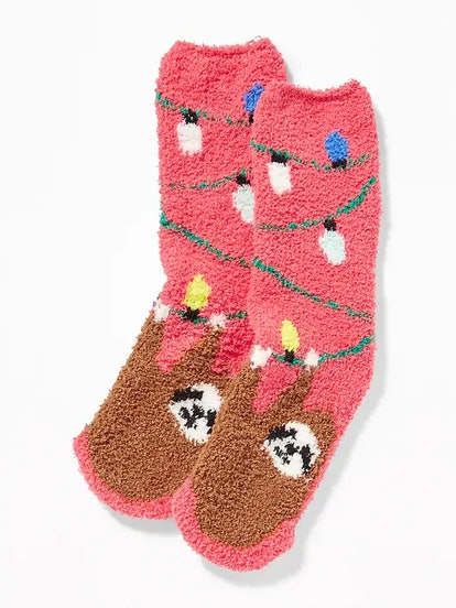 Printed Cozy Socks for Adults