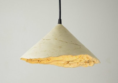 BaraduxCeramic Rustic Farmhouse Ceramic Suspension Lamp
