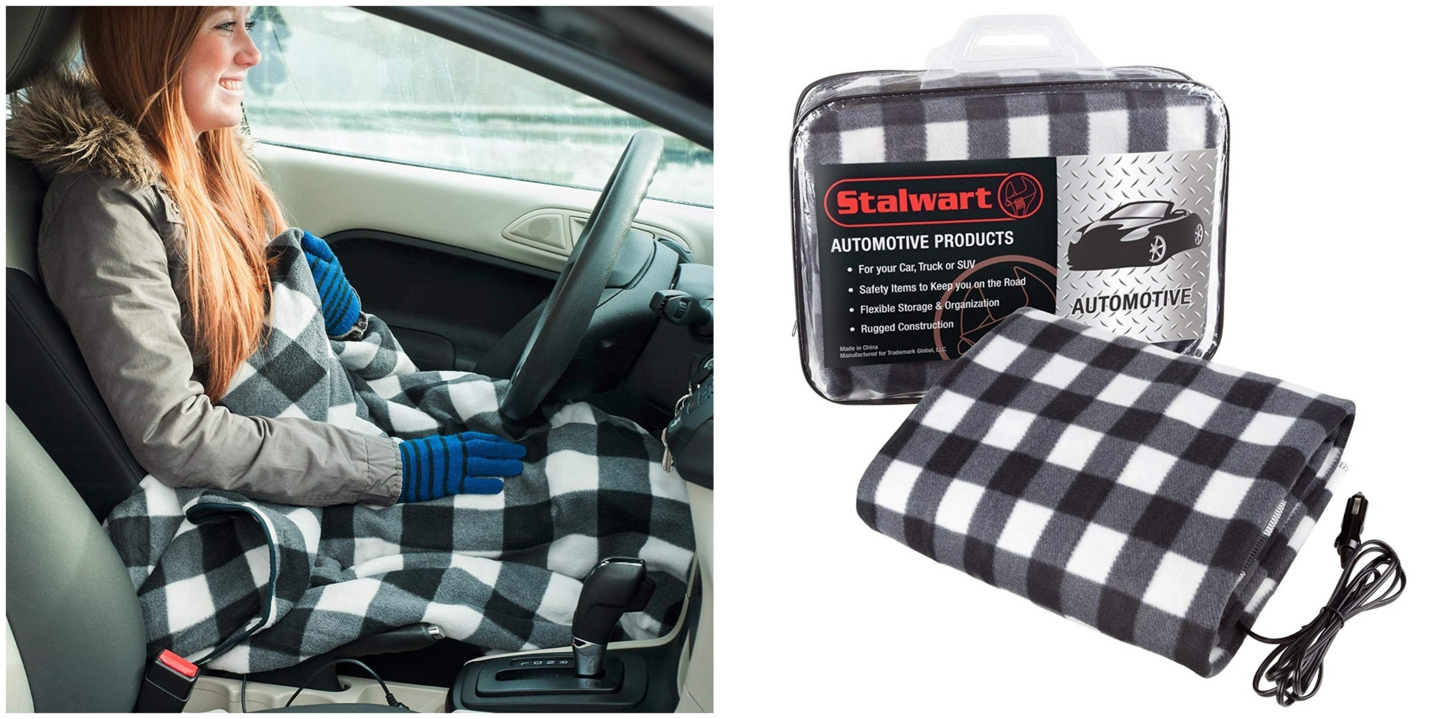 This Heated Blanket For Cars Is A Must Have For Anyone Driving In
