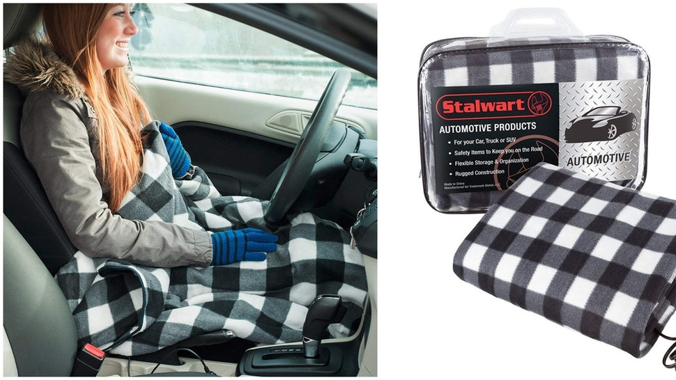 This Heated Blanket For Cars Is A Must Have Anyone Driving In Cold Climates