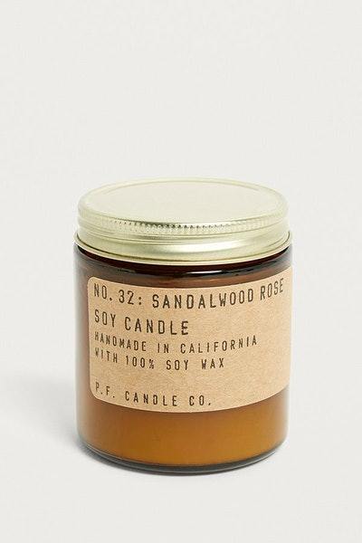 P.F. Candle Co. Sandalwood Rose Jar Candle