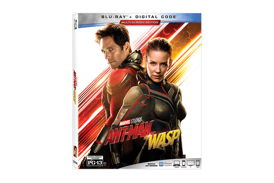 Marvel's 'Ant-Man & The Wasp' on DVD and Blu-Ray