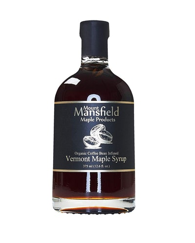 Mount Mansfield Organic Coffee Bean Infused Maple Syrup