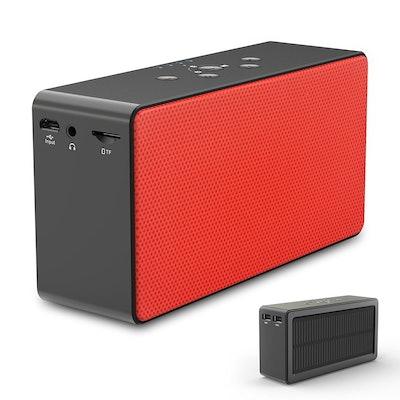 ZEROLEMON Solar Bluetooth Speaker