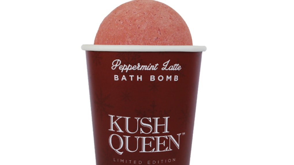 Kush Queens Cbd Infused Peppermint Latte Bath Bombs Are Here For