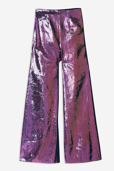 Hologram Sequin Trousers by Topshop x Halpern