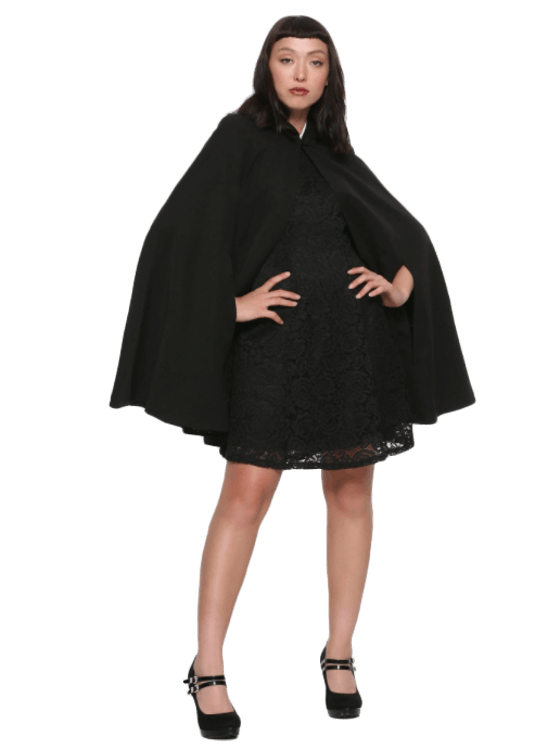 Veronica Lodge Hooded Cape (Size S - 3X)