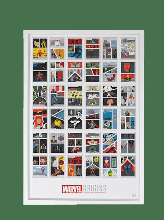 'Marvel Origins: A Sequential Compendium' Print