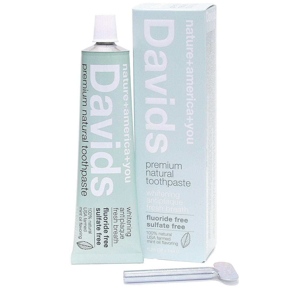 Davids Natural Toothpaste