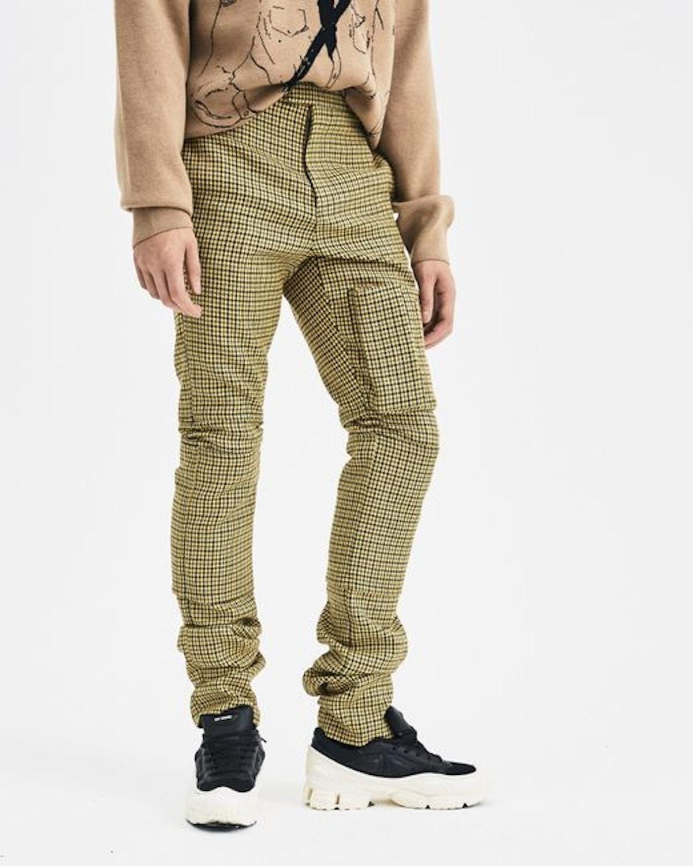 Yellow Slim Space Pants