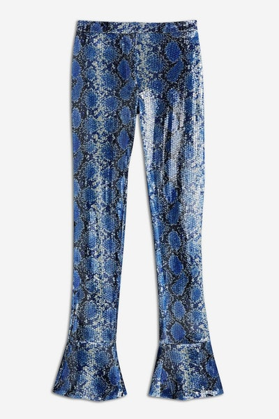 Snake Sequin Trousers by Topshop x Halpern