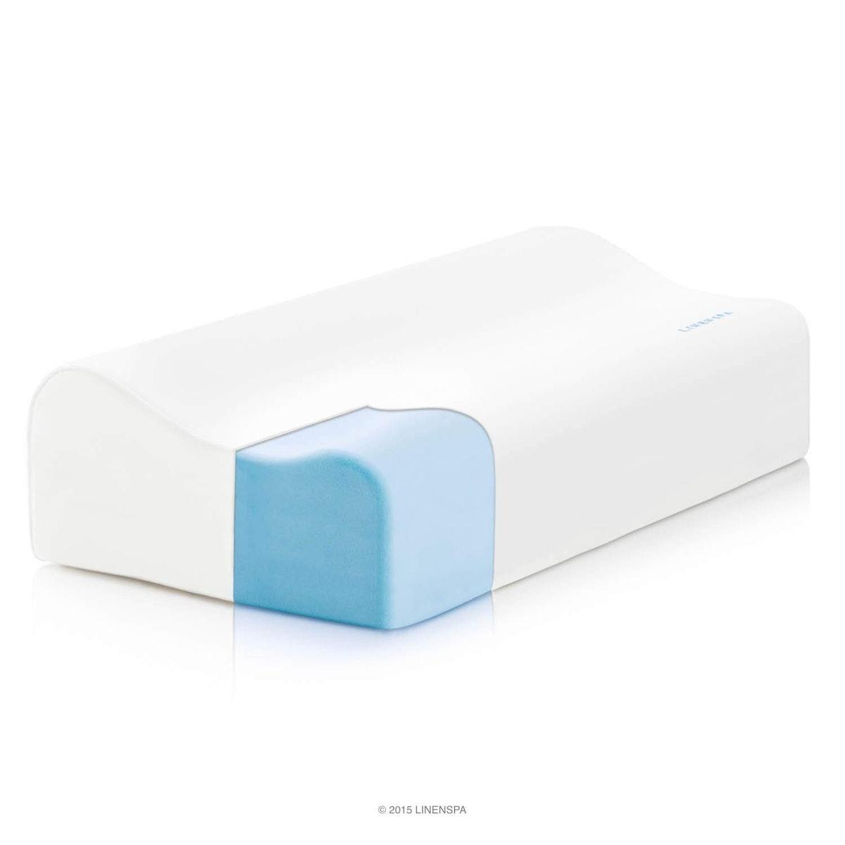 LinenSpa Gel Memory Foam Pillow