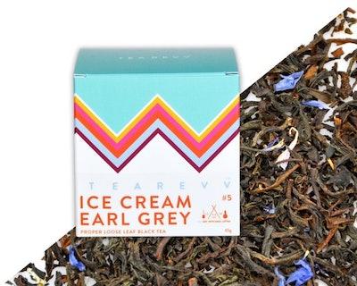 Ice Cream Earl Grey Tea