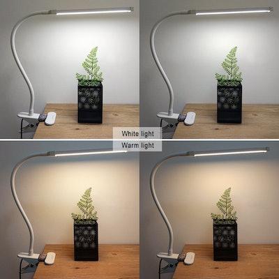 LEPOWER Clip-On Reading Lamp
