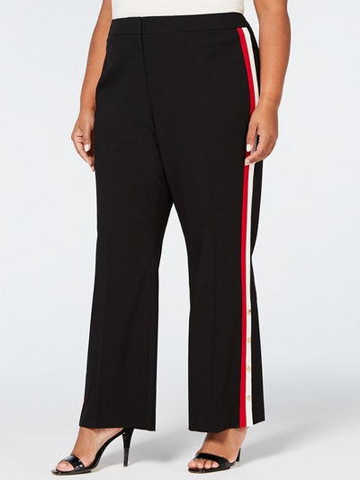 Side-Stripe Pants
