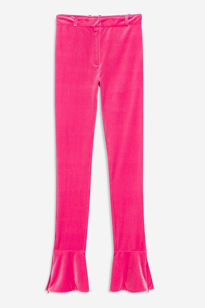 Velvet Trousers by Topshop x Halpern