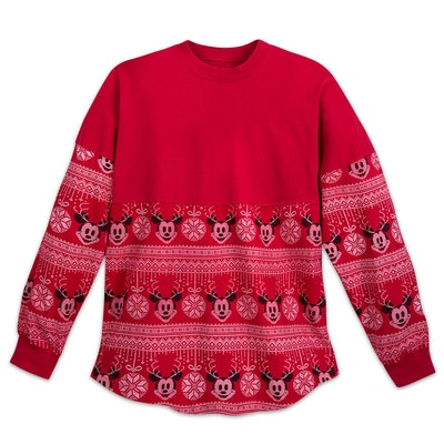 Mickey Mouse Holiday Spirit Jersey for Adults