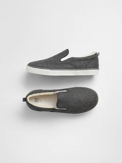Cozy Slip-On Sneakers