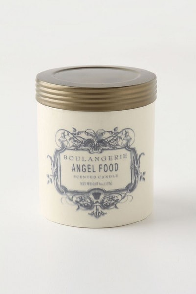 Anthropologie Boulangerie Candle Jar in Angel Food