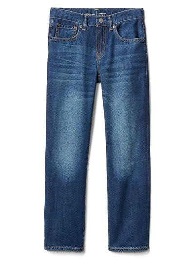 Boy's Straight Jeans with Stretch
