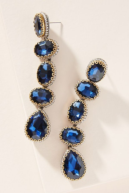 Skipping Stone Drop Earrings
