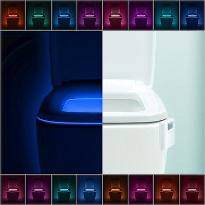 LumiLux Toilet Bowl Night Light