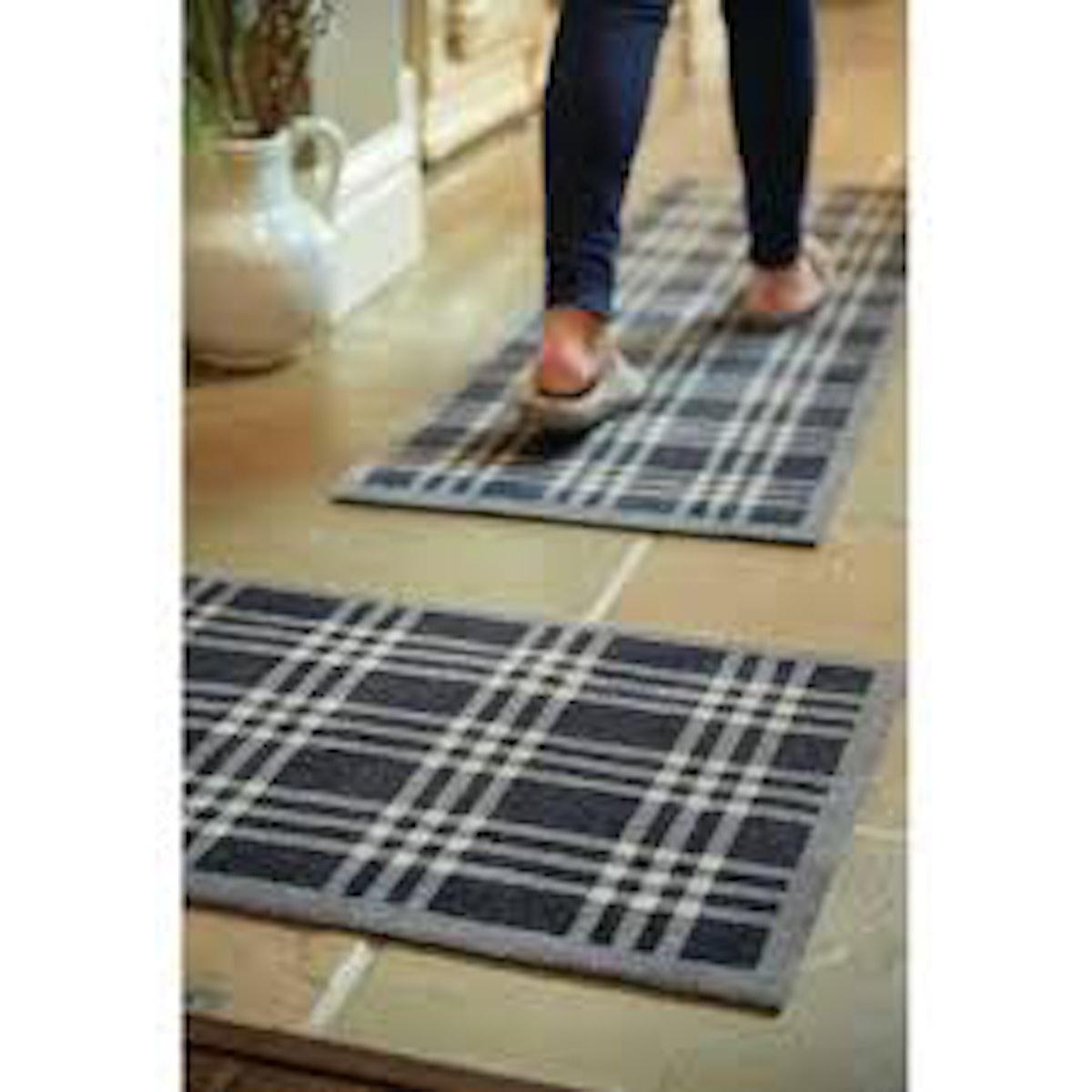 Muddle Mat Check Doormat