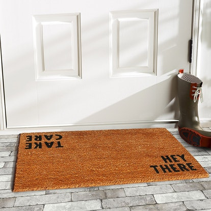 Home & More Hey There Doormat