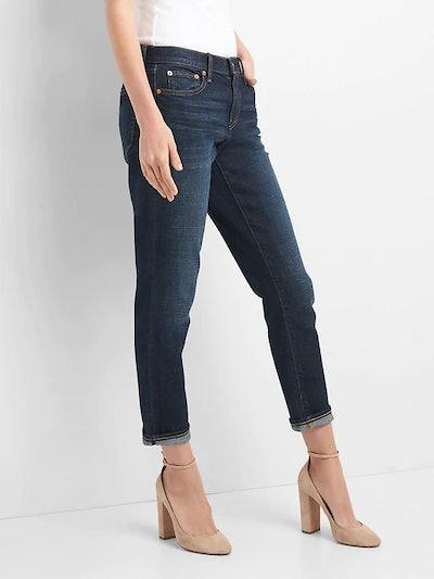Mid Rise Best Girlfriend Jeans