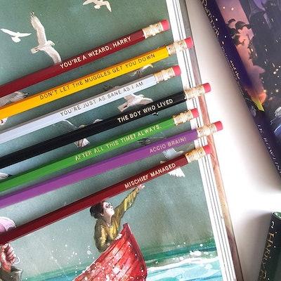 Set of 7 Harry Potter Pencils