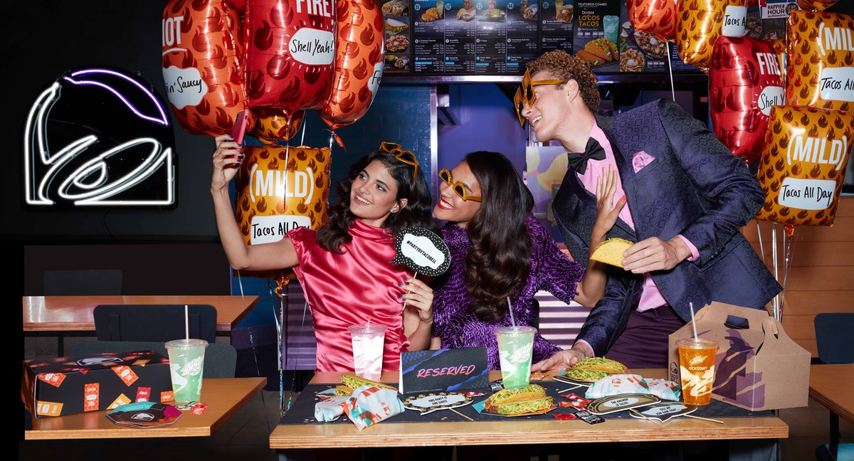 Taco Bell Will Let You Throw Parties In-Restaurant Now — Here's How To Book One Online