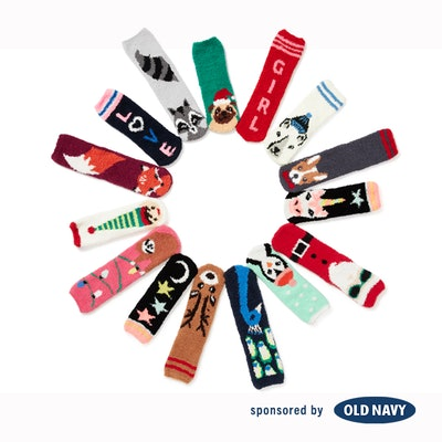 Printed Cozy Socks