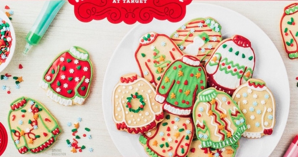 This Ugly Sweater Cookie Decorating Kit From Target Is Almost Too