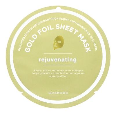 My Spa Life Rejuvenating Gold Foil Sheet Mask