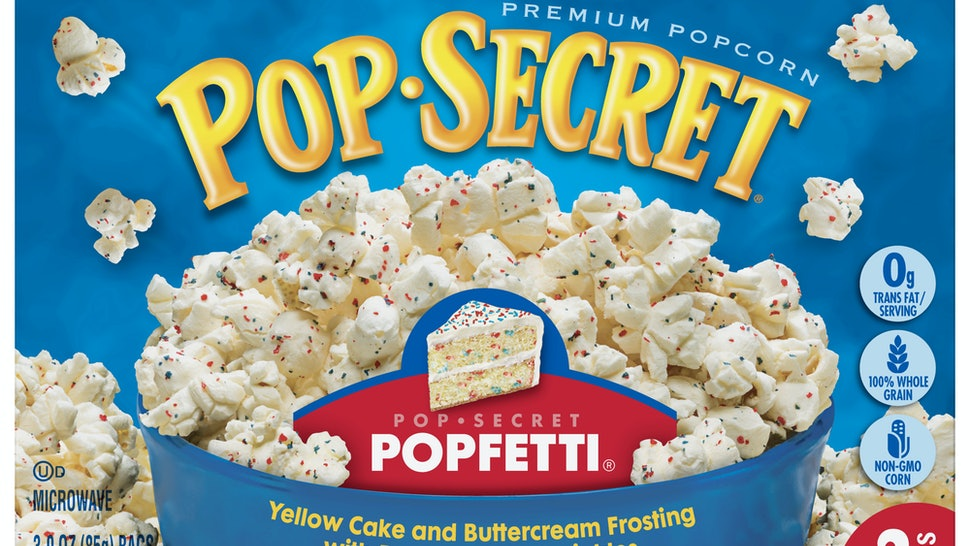 Pop Secrets Popfetti Popcorn Is Back For A Limited Time It Tastes Just Like Funfetti Cake