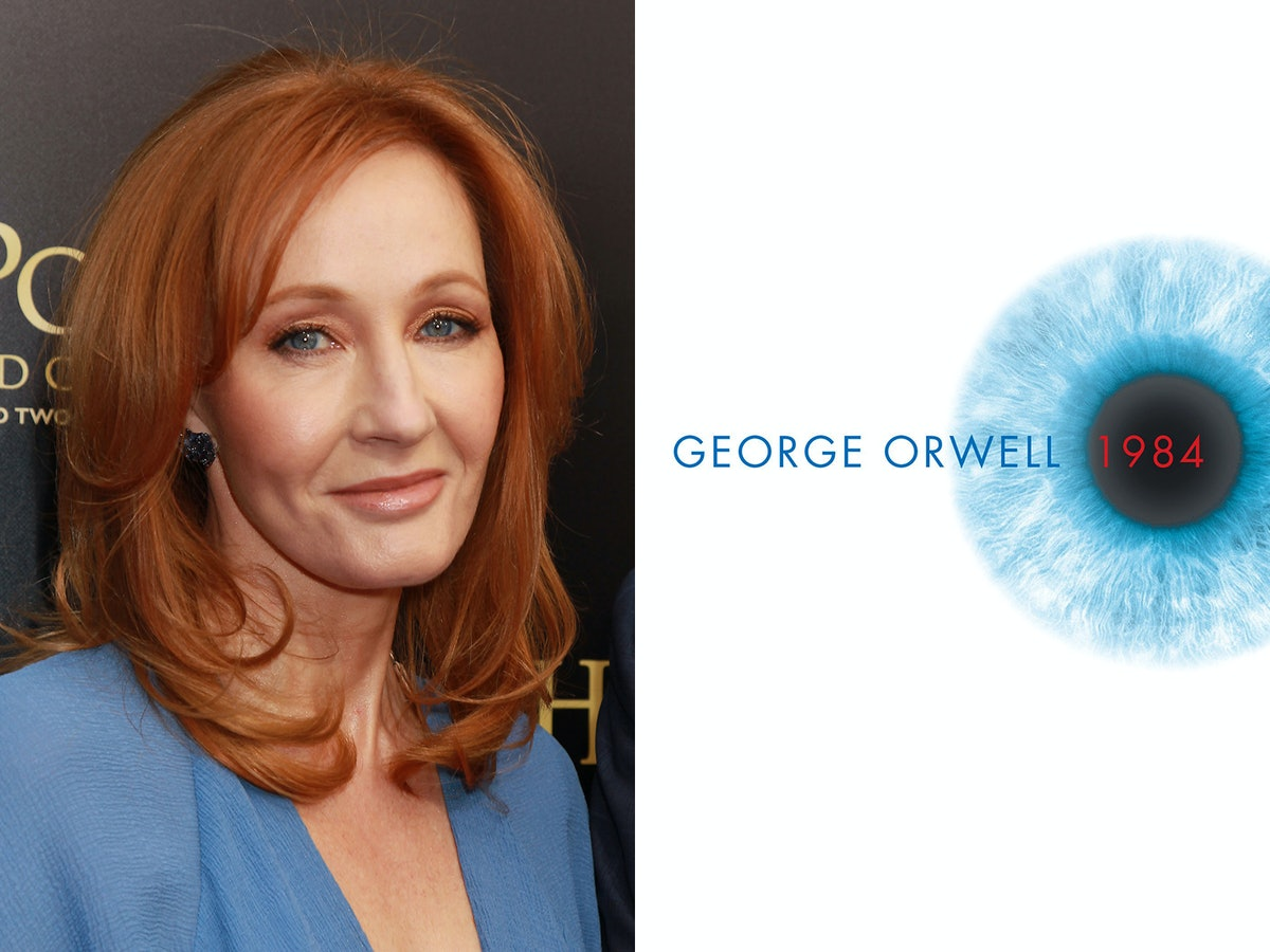 J.K. Rowling Used The Perfect George Orwell Quote To Speak Out Against The Trump Administration