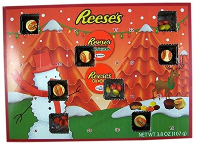 2018 Reese's Holiday Countdown Christmas Advent Calendar