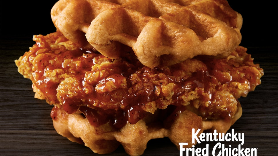 Kfcs Chicken Waffles Are On Menus For A Limited Time So Eat Up