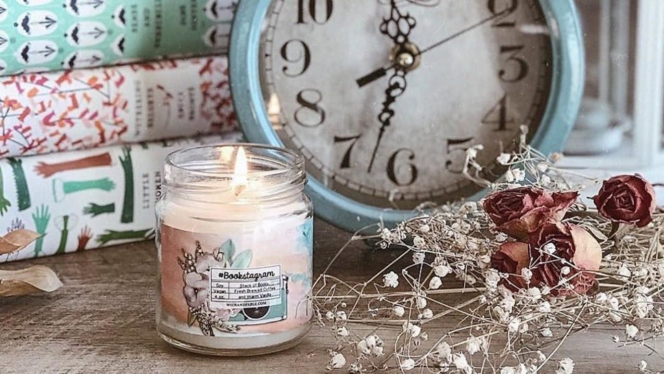 9 Candles That Smell Like Books To Help You Set The Perfect