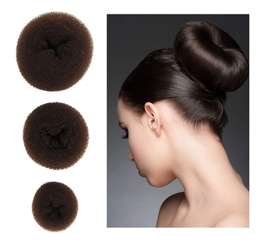 Style Hair 3 Piece Donut Hair Bun Maker